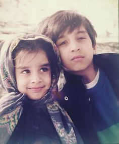 Little cute  Shraddha Kapoor and siddhanth kapoor