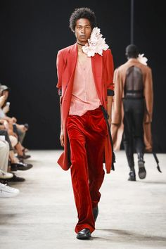 Ann Demeulemeester Menswear Spring Summer 2018 Collection in Paris