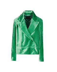 EMPORIO ARMANI Women's Blazer Green 6 US