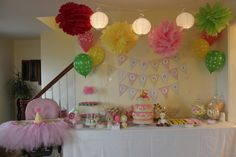 Pastel Safari party #pink #safari