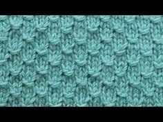 Плотный рельефный узор Вязание спицами 285 - YouTube