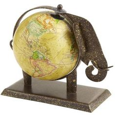 GL☼BE~Globe Elephant