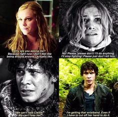 Bellarke #The100 #Season3