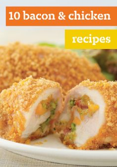 10 Bacon and Chicken Recipes – OSCAR MAYER Bacon brings its singularly delicious flavor to a variety of chicken recipes in our collection that showcases this dynamic duo.