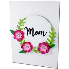 JMRush Designs: Mom Flower Card