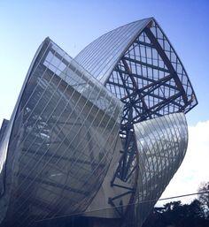 Frank Gehry  Louis Vuitton foundation Paris