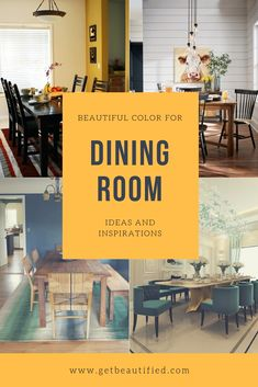 Our dining-room color motivation gallery includes our most prominent color pattern. From modern-day to conventional, get motivated by these trendy dining room paint color. #diningroom#paint#color#ideas#design#wall#table