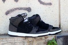 "new product 14312 28fb6 Nike SB Dunk High Premium Pro ""Striped Tongue"" Nike Tanjun, Nike Air  Vapormax"