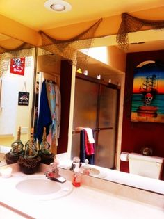 Pirate bathroom :-)
