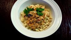 """Hungarian Mushroom """"Tokany"""" by Helen M. Hungarian Recipes, Family Meals, Risotto, Stuffed Mushrooms, Yummy Food, Pasta, Dishes, Ethnic Recipes, Plate"""