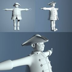 3D character by Caroline Rondeau http://caro-rondo.tumblr.com/