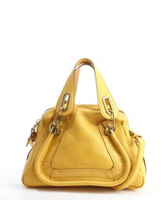 Chloe sunray leather 'Paratay' small shoulder bag