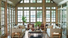 Focus on the View | These lake house decorating ideas will help create a serene oasis, expertly blending with the beauty of nature all around. There's something so nostalgic about lake houses—memories of hot summers spent by the lake, autumn getaways to see the rich fall foliage. Lake houses are the de facto settings for big family gatherings, girlfriend getaways, and celebratory weekends. So shouldn't a lake house be a place that draws people in, wraps them up, and invites them to stay a…