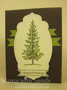Stamp With Sandy: Lovely as a Tree for FMS63