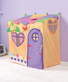 Look what I found on #zulily! Garden Play Tent by HearthSong #zulilyfinds