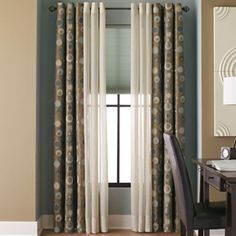 Studio Martini Grommet-Top Drapery Panel - jcpenney -not custom clearance sale begins at $36