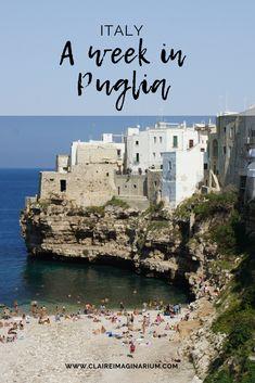 A week in Puglia, Italy - Claire Imaginarium Best Honeymoon Destinations, Italy Honeymoon, Italy Vacation, Vacation Trips, Italy Travel, Italy Trip, Vacation Ideas, Puglia Italy, Italy Italy
