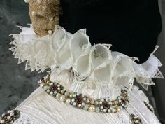 Ruff- Accessories for the 1570s Spanish Court Ensemble Constructed by Truly Carmichael