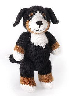 Ravelry; knitting pattern for puppy