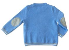 baby cashmere sweater with elephant intarsia set of sweater ant pants. blue sweater for boy