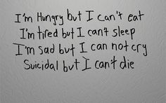 No matter how hard i try, i cant seem to do any of those things...