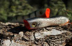 Popper CF - jerk na szczupaka łowionego w specyficznych warunkach #przynęty #wędkarstwo #rękodzieło #handmade