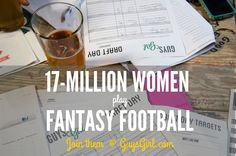 Free Fantasy Football Guide: learn how to play fantasy football and join the 17-million women already playing.