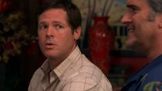 """Burn Notice 2x10 """"Do No Harm"""" - Sam Axe (Bruce Campbell) & Kenny (David Barry Gray)"""