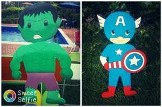 Superheroes en icopor para fiesta infantil Luigi, Sweet, Fictional Characters, Art, Parties Kids, Candy, Art Background, Kunst, Performing Arts