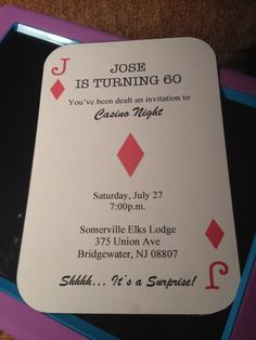 "Photo 1 of 21: Casino / Birthday ""Jose's surprise 60th birthday party"" 