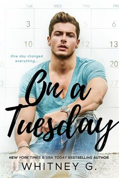 On A Tuesday by Whitney G. Releasing Summer 2017. https://itunes.apple.com/us/book/on-a-tuesday/id1236519606?mt=11