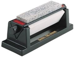 Try This!  NEW SMITHS ABRASIVES TRI 6 THREE STONE SIDED TRI HONE DELUXE KNIFE SHARPENER