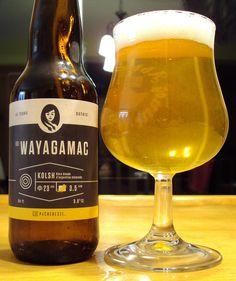 La Wayagamac - Microbrasserie La Pécheresse #kolsch #craftbeer #boirelocal  #drinkcraft #microbrasserie #beer #bière #bièreduquébec #craftbeerqc #bièreqc