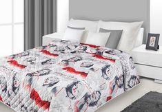 Bielo červené prikrývky na posteľ Marilyn Monroe - domtextilu. Marilyn Monroe, Comforters, Blanket, Bed, Furniture, Home Decor, Creature Comforts, Quilts, Decoration Home