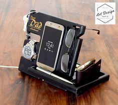Custom Docking station Easter gift For Men Dad Desk