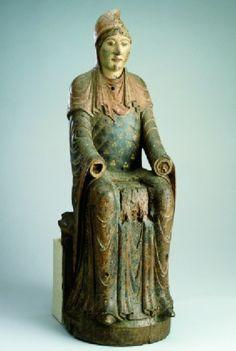 statue of the Virgin Circa 1130