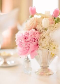 Top 14 Fancy Peony Centerpieces – Cheap Easy Design For Unique Spring Day Party - Way To Be Happy (9)