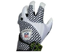 Reebok NFL Fuel Receiver Tackified Mens Football Receiver Gloves White 3XL ** For more information, visit image link.Note:It is affiliate link to Amazon. #food