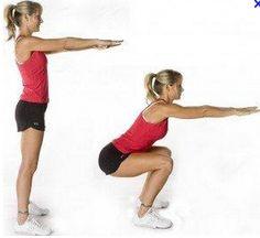 Flexion sur jambes