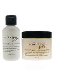 """Philosophy Microdelivery Peel, $65: """"Mechanical and chemical system—easily modified for sensitive skin."""""""