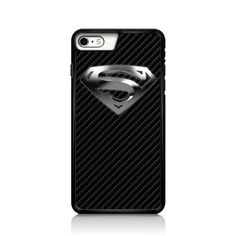 Superman Logo Carbon Fibre Textured iPhone 6 Case