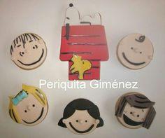 Galletas Decoradas. Snoopy cookies. Periquita Giménez