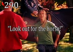 """Friends #290 - """"Look out for the horse!"""""""