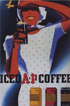 Joseph Binder - Poster for A & P Coffee, 1939
