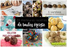 Best recipes for energy balls - wooloo Cas, Raw Food Recipes, Healthy Recipes, Bowl Cake, Easy Meals For Kids, Energy Snacks, Balls Recipe, Good Energy, Healthy Snacks