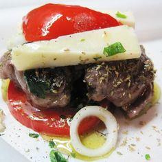 Κλέφτικο Eat Greek, Greek Recipes, Steak, Greece, Beef, Traditional, Wine, Glasses, Food