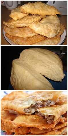 """Crimean"" pasties - the right recipe recipes recipeoftheday easy eat recipe eat food fashion diy decor dresses drinks Empanadas, Cooking Bread, Cooking Recipes, Cooking Lamb, Good Food, Yummy Food, How To Cook Rice, Russian Recipes, Galette"