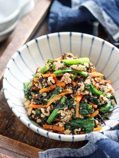Studio Yuu* Powered by ライブドアブログ Home Recipes, Asian Recipes, Great Recipes, Healthy Recipes, Ethnic Recipes, Easy Recipes, Japanese Menu, Japanese Recipes, Food Menu
