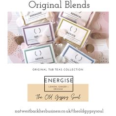 Energise bath blend of natural salts and essential oils