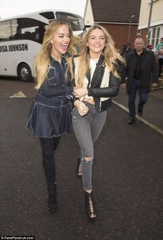 Dream come true: X Factor finalist Louisa Johnson, 17, visited her old primary school in G...